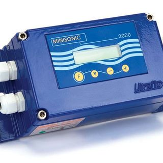 Flowmeter for liquids - Minisonic 2000 is available at Industrie Automation Graz, IAG, throughout Austria.