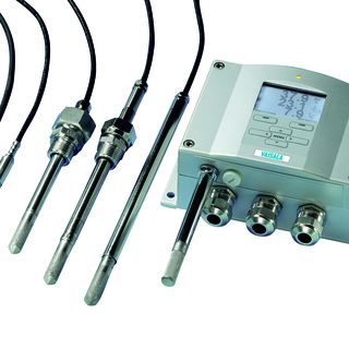 HMT330 Humidity and Temperature Transmitter for demanding humidity measurements is available throughout Austria from Industrie Automation Graz, IAG.